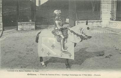 """. CPA FRANCE 45 """"Orléans, Cortège historique du 07 mai 1913 """" / FETE DE JEANNE D'ARC"""