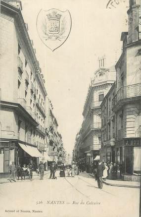 ". CPA  FRANCE 44 ""Nantes, Rue du Calvaire"""