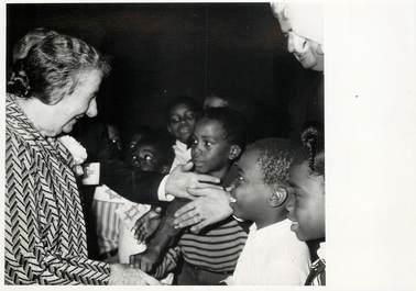 "PHOTO ORIGINALE /  THEME JUDAICA ""Golda Meir, 1er ministre israélien, 1969"""