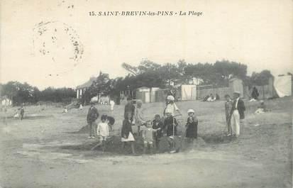 """. CPA  FRANCE 44 """" St Brévin les Pins, La plage"""""""