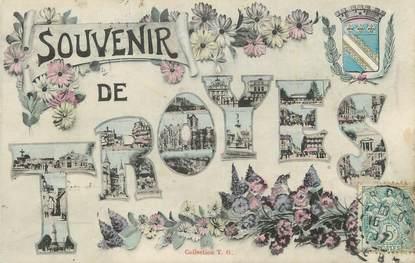 ". CPA   FRANCE 10 ""Troyes, Souvenir de Troyes"""