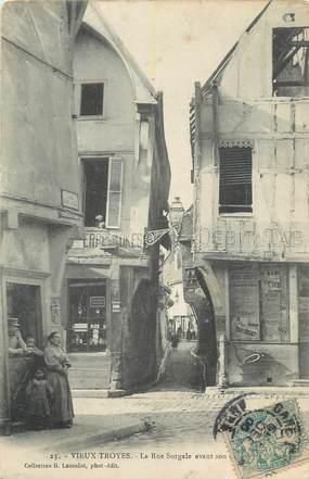 """. CPA   FRANCE 10 """"Troyes, La rue Surgale"""""""