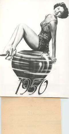 """PHOTO ORIGINALE / THEME """"Année 1950"""""""