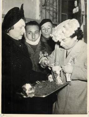 """PHOTO ORIGINALE / THEME """"1948, Mont Valérien, cérémonie"""""""