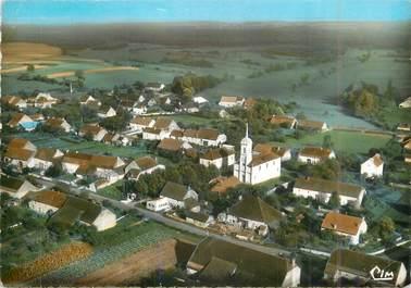 """CPSM FRANCE 21 """"Soissons, vue aérienne sur le bourg"""""""