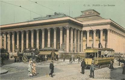 """CPA FRANCE 75002 """"Paris, la Bourse"""""""