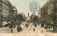 """CPA FRANCE 75011 """"Paris, la rue du Temple et la Place de la République"""""""