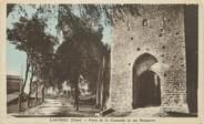 """81 Tarn CPA FRANCE 81 """"Lautrec, Porte de la Caussade et ses remparts""""."""