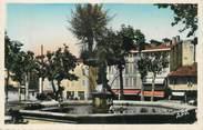 """81 Tarn CPSM FRANCE 81 """" Graulhet, L'arbre sur la fontaine""""."""
