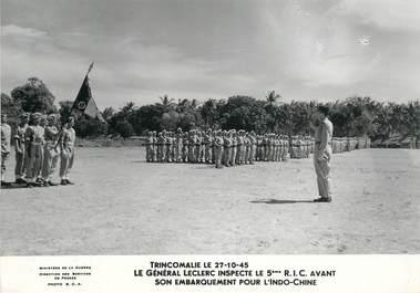 """PHOTO ORIGINALE / THEME MILITAIRE """"Le Général Leclerc, 1945"""""""