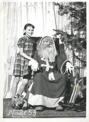 """PHOTO ORIGINALE / THEME """"Le Père Noël de 1953"""""""