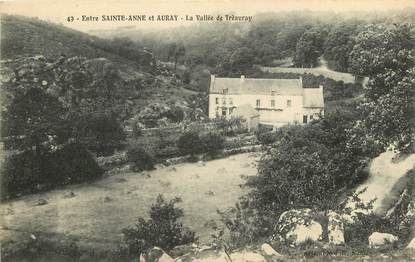 "CPA FRANCE 56 ""Entre Sainte Anne et Auray, La Vallée de Trèauray"""