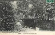 "81 Tarn CPA FRANCE 81 ""Castres, La passerelle du jardin du mail"""