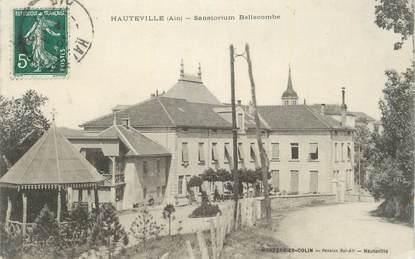 "CPA FRANCE 01 ""Hauteville, Sanatorium Bellecombe""."