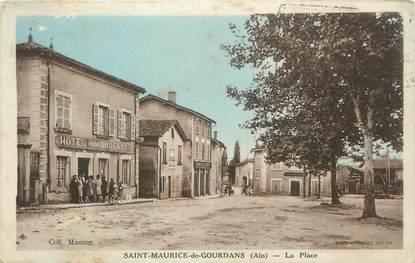 """CPA FRANCE 01 """"St Maurice de Gourdans, La place"""""""