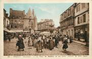 "56 Morbihan CPA FRANCE 56 ""Pontivy, La Place du Martray"""