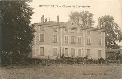 """CPA FRANCE 01 """"Genouilleux, Château de Chevagnieux""""."""