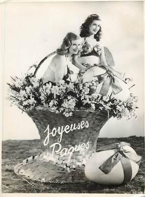 "PHOTO ORIGINALE / THEME ""Pâques 1948"""