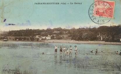 """CPA FRANCE 01 """" Jassan Riottier, Le Devay""""."""