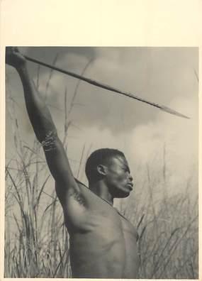 PHOTO ORIGINALE / AFRIQUE / Chasseur guerrier