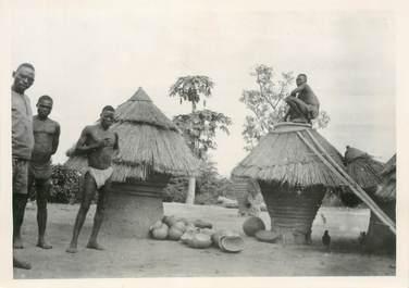 """PHOTO ORIGINALE / AFRIQUE """"Togo, Greniers à mil"""""""