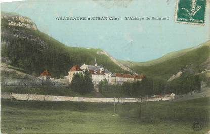 """CPA FRANCE 01 """" Chavannes sur Suran, L'abbaye de Sélignac""""."""