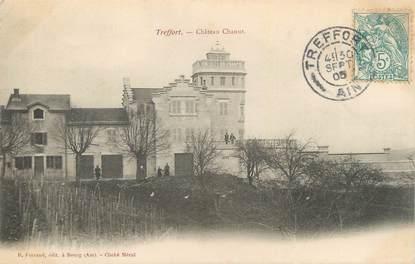 """CPA FRANCE 01 """" Treffort, Château Chanut""""."""