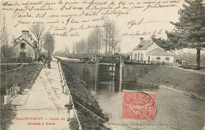"""CPA FRANCE 56 """"Malestroit, Canal de Nantes à Brest"""""""