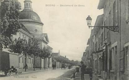 "CPA FRANCE 01 "" Bourg, Boulevard de Brou""."