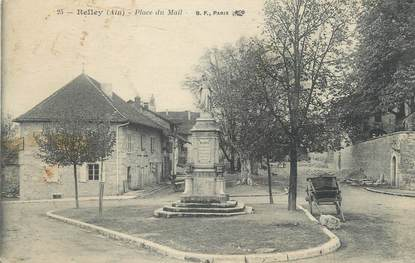 "CPA FRANCE 01 "" Belley, Place du mail""."