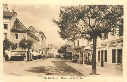 "CPA FRANCE 01 "" Belley, Boulevard de Verdun""."