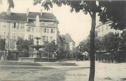 "CPA FRANCE 01 "" Belley, Place des Terreaux""."