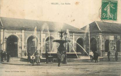 "CPA FRANCE 01 "" Belley, Les halles""."