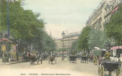 """CPA FRANCE 75002 """"Paris, bld Montmartre"""""""