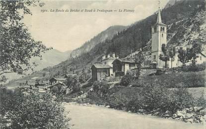 """CPA FRANCE 73 """"Le Planay, La route de Brides et Bozel à Pralognan""""."""