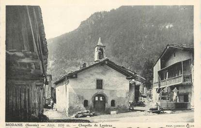 """CPA FRANCE 73 """"Modane, Chapelle de Loutraz """"."""