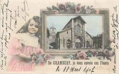 "CPA FRANCE 73 ""Chambéry, Vue""."