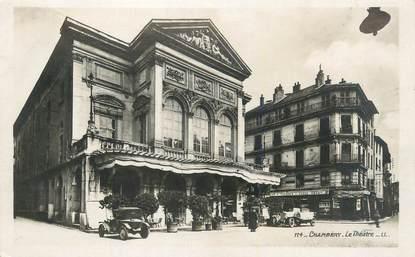 "CPA FRANCE 73 ""Chambéry, Le théâtre""."