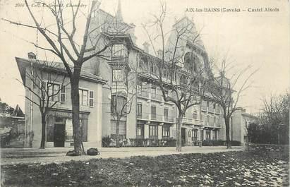 """CPA FRANCE 73 """"Aix les Bains, Castel Aixois""""."""