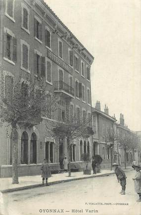 "CPA FRANCE 01 ""Oyonnax, Hôtel Varin""."