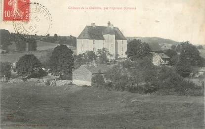 """CPA FRANCE 23 """"La Chézotte, Le château""""."""