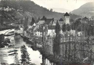 """CPSM FRANCE 46 """" Marcilhac, Vallée du Cele""""."""