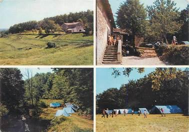 """CPSM FRANCE 46 """"Lacamdourcet, Le Marroufin centre de vacances""""."""