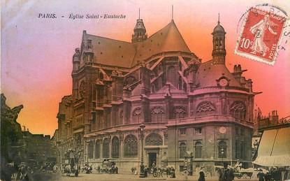 """CPA FRANCE 75001 """"Paris, Eglise Saint Eustache"""""""