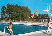 """18 Cher CPSM FRANCE 18 """"Aubigny sur Nere, La piscine""""."""
