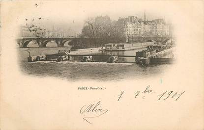 "CPA FRANCE 75001 ""Paris, le Pont Neuf """