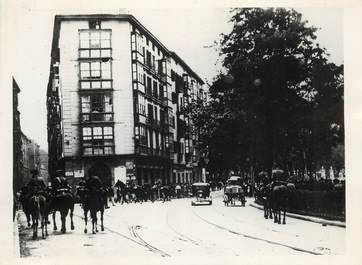 "PHOTO ORIGINALE / ESPAGNE ""Bilbao, 1934, manifestations"""