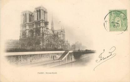 """CPA FRANCE 75004 """"Paris, Notre Dame """""""