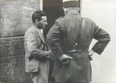 """PHOTO ORIGINALE / ALGERIE """"1938, accident de chemin de fer, l'express Alger Oran"""""""