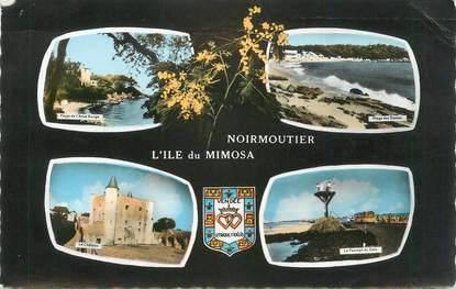 """CPSM FRANCE 85 """" Noirmoutier, Vues""""."""